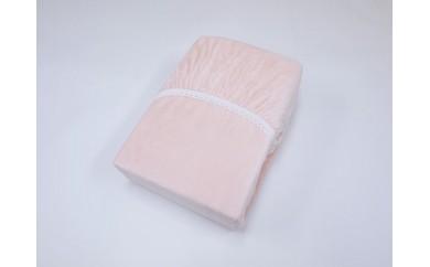 全周ゴム付きあったかアクリルボアフィットシーツ(布団用)(ピンク)三和シール工業株式会社