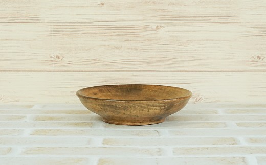 [№5725-0109]柿の木 小皿 食器 木の器 小物入れ 木製