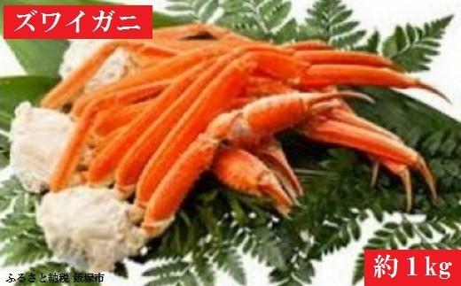 【A-034】魚市場とコラボ!ボイルズワイガニ4肩 1kg
