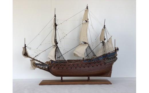 656 帆船模型  ヴァーサL(完成品)