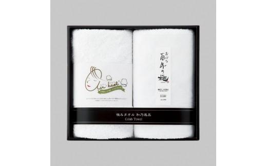 【8020】エアーかおるタオル&おぼろタオルセット(A18-702)