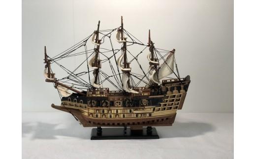 658 帆船模型  ソヴリンS(完成品)
