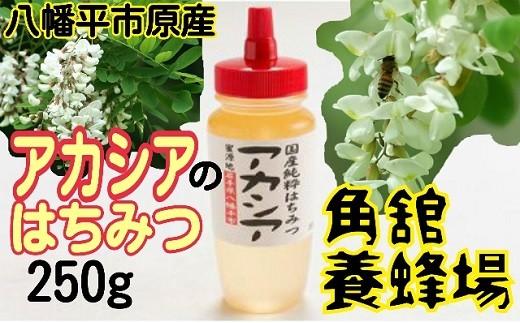 HMG026 角舘養蜂場の国産純粋蜂蜜250g【アカシア】