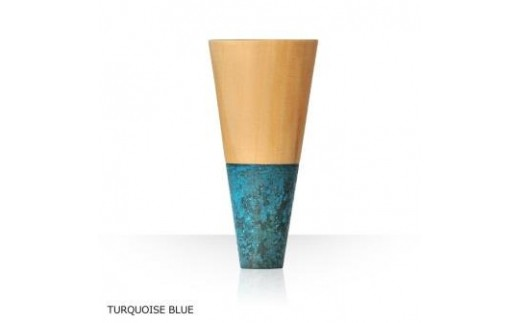 DB03 Guinomi Sake Cup HORN(TALL series):高岡銅器