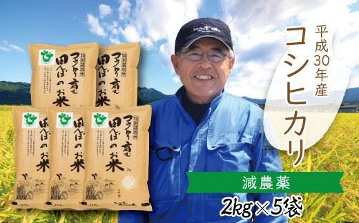 C-11 【H30新米】〈村上ファーム〉特別栽培米 コウノトリ育む田んぼのお米(2㎏×5袋)