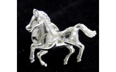 馬のピンブローチ(シルバー)