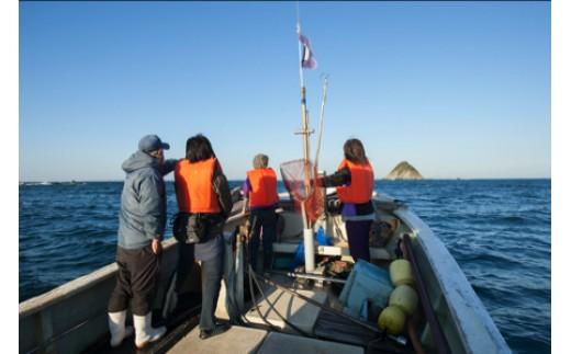 X-6漁船体感クルージング(答志島)【4名様】