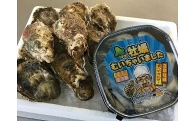 殻付き&むき身 どっちも牡蠣セット