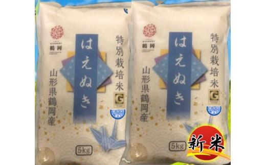 N30-025 特別栽培米はえぬき無洗米(10kg)
