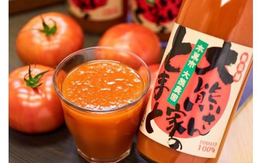 08S-0002 100%トマトジュース「大熊さん家のとまと」【限定30】