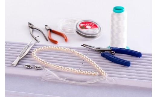 Q-9宿泊観光周遊券付き真珠ネックレス製作体験