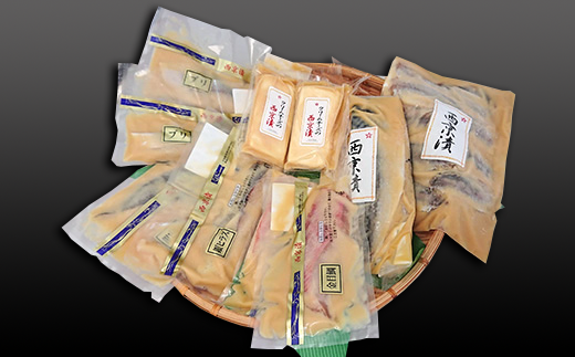 6回目(お魚とクリームチーズ西京漬)