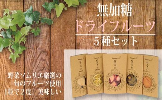 【贅沢100%】無加糖ドライフルーツ5種セット 30-3013
