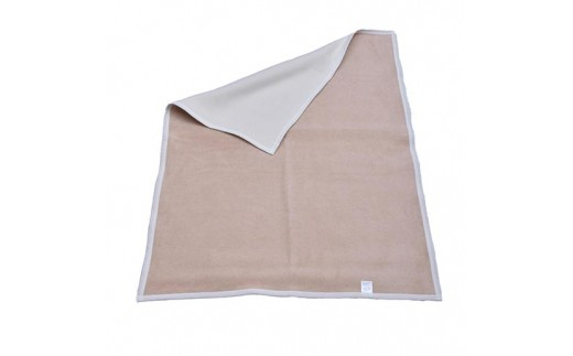 018-001 ベビー毛布(リバーシブル色 オーガニック綿使用)