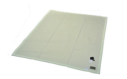 300-005 アラシャン産ホワイトカシミヤ使用毛布(毛羽部分)