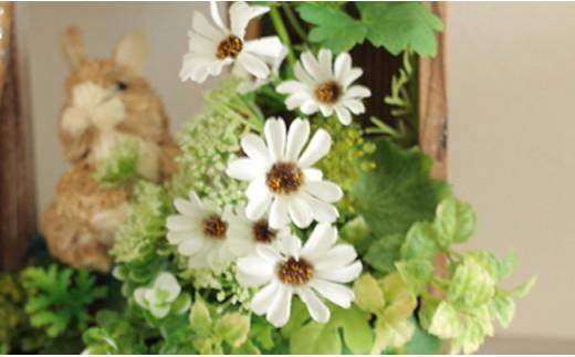 【定期便】【空気をキレイにするお花】お家まるごとアートフラワー 3か月