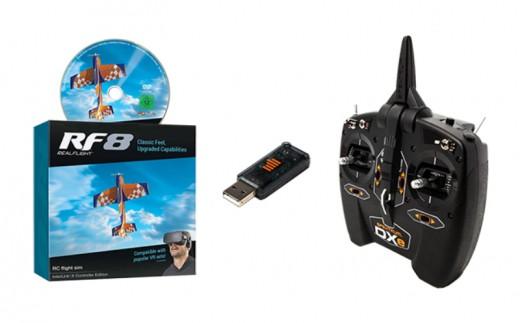 【J-024】ドローン RCシミュレーター 送信機セット おもちゃ