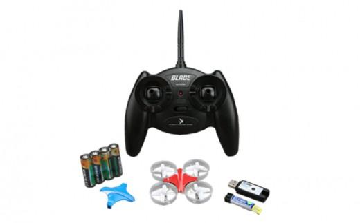 【B5-012】マイクロドローン 送信機セット ラジコン おもちゃ