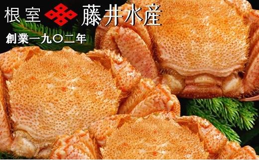 CC-23029 北海道産ボイル毛がに3~4尾(計1.5kg)
