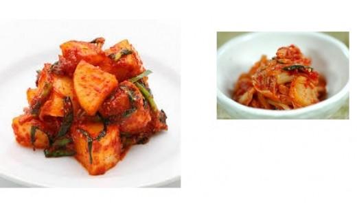 B-052.白菜と大根のキムチセット