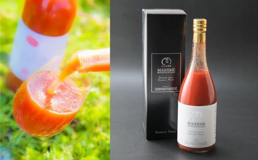 7A1010 プラチナラベル 爽やかな甘みとほのかな酸味がふくらむ「まいひめ物語」トマトジュース