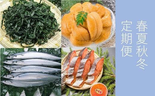 ■大槌町海の味わい春夏秋冬定期便