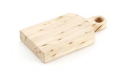 [№5708-0507]北海道枝幸町産 カッティングボード20cm×9.5cm