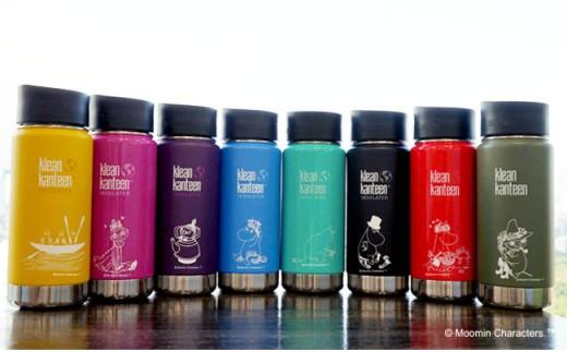 【ムーミン基金限定品】MOOMIN ワイドインスレートボトル 16オンス