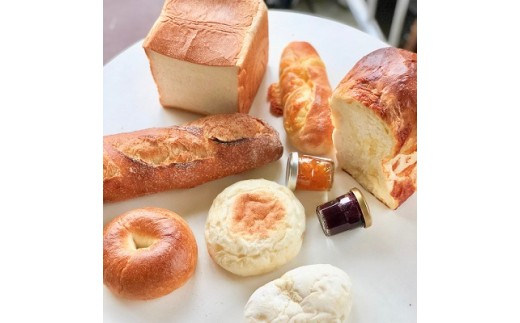 I-129 ミアズブレッドの 朝食にあうパンとジャムのセット