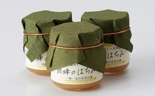 人吉球磨産『幻の地バチの蜂蜜』50g×3個