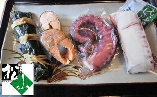 [05-179]たこしゃぶと浜料理3種セット