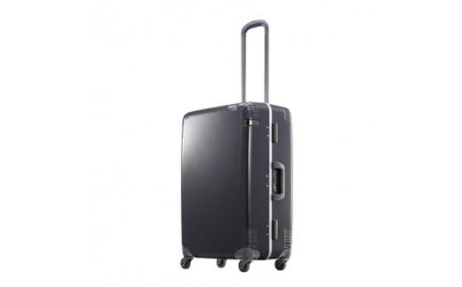 日本製スーツケース ace.カーンF 60L (ガンメタ) 04091-09【1019278】