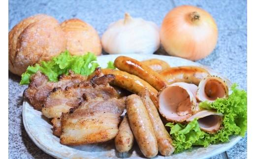 【岐阜県産豚肉使用】無添加・手作り こだわりハム・ソーセージ・ベーコン詰め合わせ(11種)