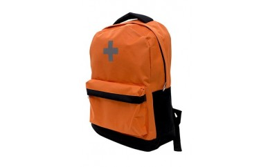 ◆軽量で持ち運び便利! 防災バッグ30(オレンジ)