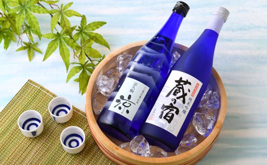 [A-1354] 久保田酒造の四季で味わう日本酒シリーズ 『夏』 ~涼と蔵の宿~