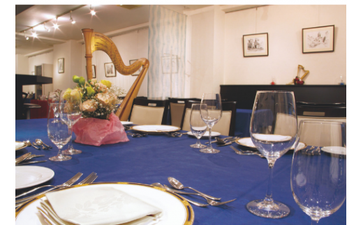 ①②に加えて、レストラン アンシェーヌ藍での昼食券