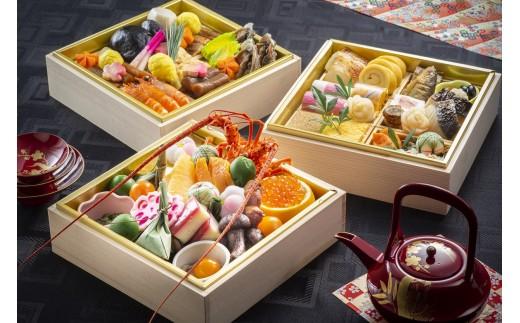 【生おせちを大晦日にお届け】正統派日本料理 特選生おせち『紅富士』
