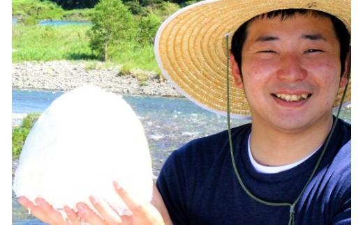 【新米】仁淀ブルーの恵み「おち米」 30kg