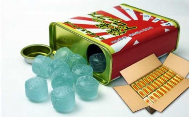 海軍携帯ドロップス 缶入り 【ソーダ味】30缶