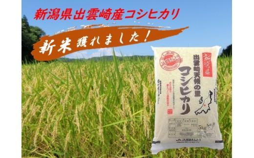 【平成30年新潟県出雲崎産米】特別栽培コシヒカリ「天領の里」5㎏