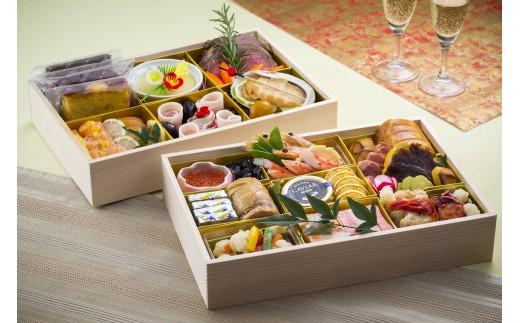 【生おせちを大晦日にお届け】ナチュラルフレンチ 特選生おせち 洋食二段重