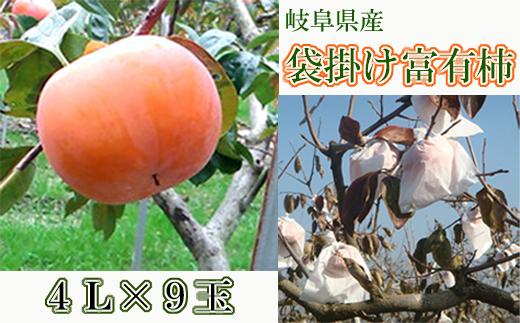 【25042】果物高糖度富有柿フルーツ岐阜県産ギフト贈答用に最適な特選柿