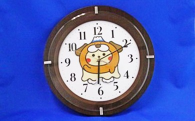 [№5812-0089]すそのんクロック(電波掛け時計)