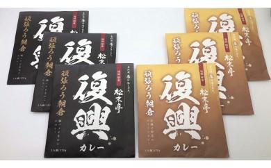 [№5656-0426]【松末亭】復興カレー 6食