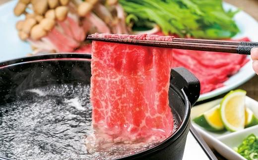 G-12 (合計1kg)豊後・米仕上牛しゃぶしゃぶ食べ比べセット【豊後高田市限定】