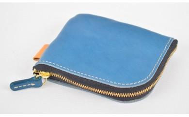 minca/Lzip wallet small 02/BLUE