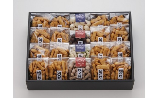 [B164]菓子道楽〈新潟米菓〉