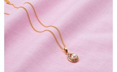 アコヤ真珠6ミリ珠ペンダント(45cm)