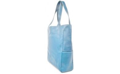 minca/Tote bag 01/L/BLUE