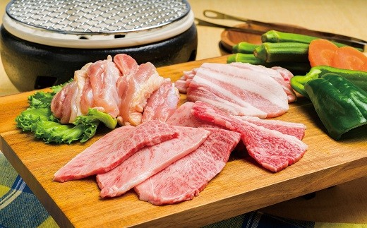 G-14 極上!豊後牛「頂」BBQセット(合計1650g)【豊後高田昭和の町のお肉屋さん】